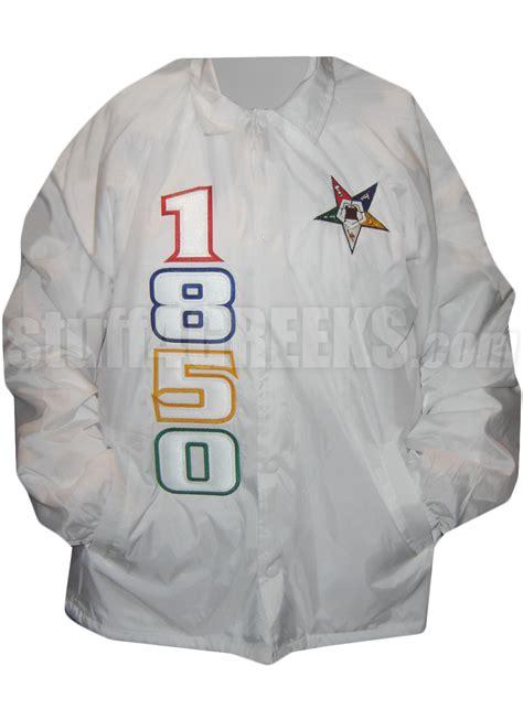 order   eastern star   jacket  fatal star white