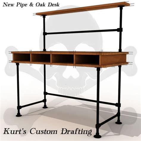 iron pipe desk plans pipe desk cool drawer idea my diy desk ideas pinterest