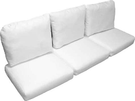 deluxe wicker sofa cushion set