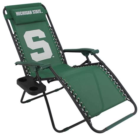 michigan state spartans zero gravity chair contemporary