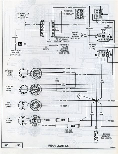 Wiring Diagram For 1988 Jeep Comanche by Wrg 5624 88 Jeep Comanche Wiring Diagram