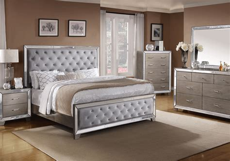 cosette silver queen bedroom set evansville overstock