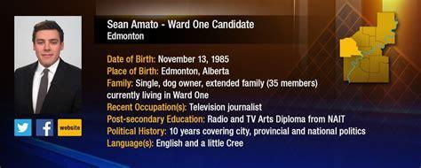 Sean Amato   Ward One Candidate