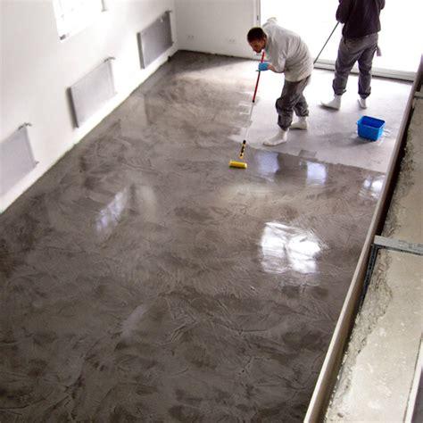 peinture resine pour plan de travail cuisine beton ciré terrasse