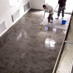 beton cire terrasse With maison en beton coule 7 dalles beton terrasse et garage maison carre blanc