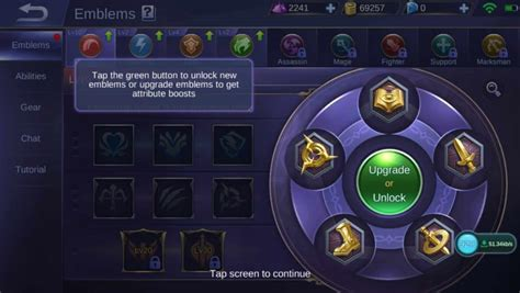 Mobile Legends Emblem Sets 2019 (new System Explained