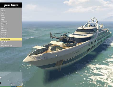 Yacht Gta Online by Yacht Deluxe Gta5 Mods