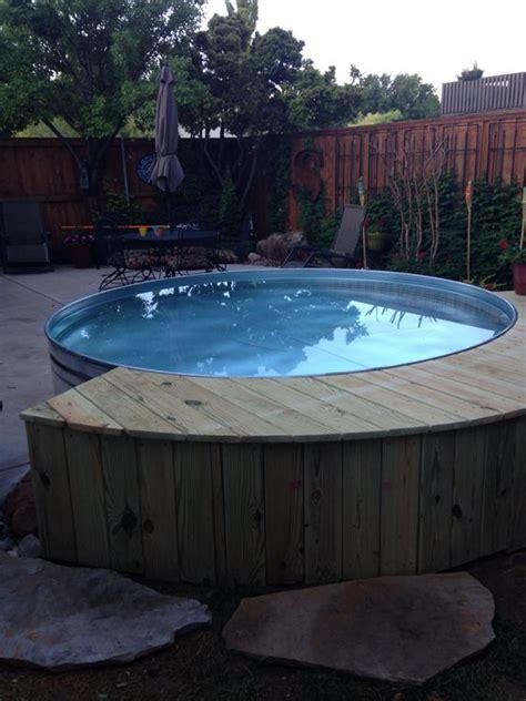 stock tank pool   home pinterest  ojays
