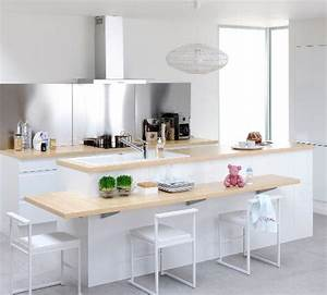 Ilot Centrale Cuisine : 25 best ideas about ilot central on pinterest ilot ~ Edinachiropracticcenter.com Idées de Décoration