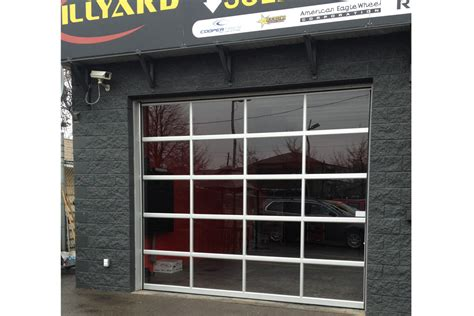 commercial garage door with door we install all types of commercial garage doors and