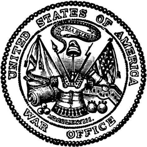 united states  america war office clipart