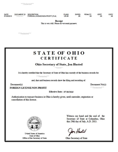 articles  incorporation state  ohio implicitthesis