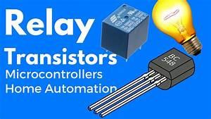 Simple Transistor Relay Circuit
