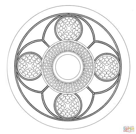 Celtic Mandala Coloring Pages Printable