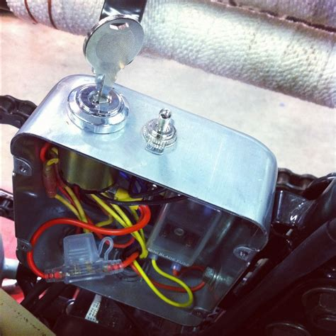 Hiding Fuse Box Car by Chopcult Xs650 Where Are You Hiding Your Electrics