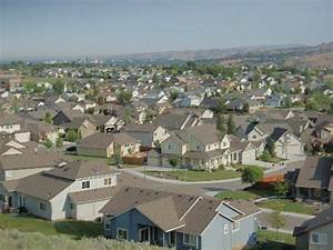 Boise suburbs - typical America - Idaho - USA ...