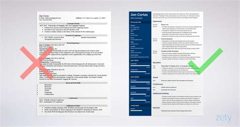 resume templates word 15 free cv resume formats to