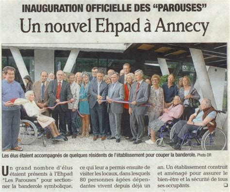 inauguration de l ehpad les parouses 224 annecy lionel tardy