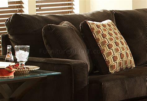 viva chocolate fabric modern sectional sofa wlarge