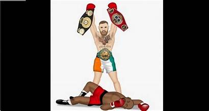 Mcgregor Conor Mayweather Floyd Player Had Fires