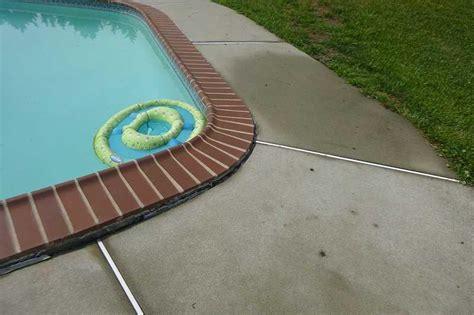 north east md pool deck repair pool deck sinking concrete