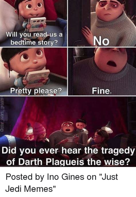 Jedi Memes - 25 best memes about tragedy of darth plagueis the wise tragedy of darth plagueis the wise memes