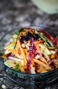 Dressing Für Karottensalat : amor kartoffelsack asiatischer rettich karottensalat ~ Lizthompson.info Haus und Dekorationen