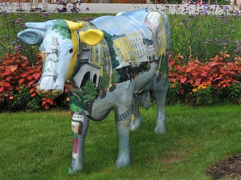 Garten Deko Kuh by Tiere Als Gartenfiguren Deko K 252 He Und Porzellan V 246 Gel