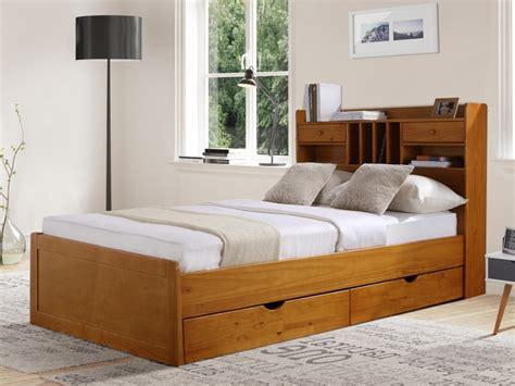 canapé lit 1 place conforama lit mederick avec rangements 140x190 pin massif