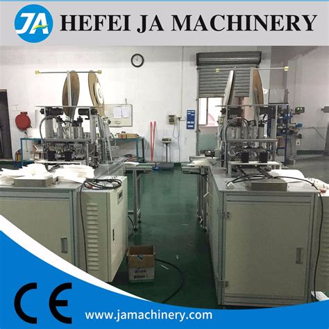 fully automatic face mask making earloop welding machine