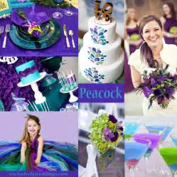 colors for weddings your wedding colors peacock exclusively weddings wedding ideas and more