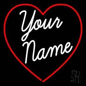 Custom Cursive Name Wedding Neon Sign