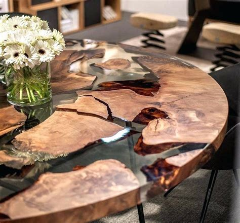 Wood And Resin Table Earth Epoxy For Tops ? beampay.co