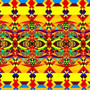 Colorful Abstract Pattern. Geometric Background Art ...