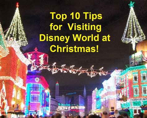 top tips for disney world at christmas build a better