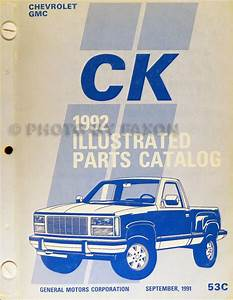 1992 Gmc Sierra Yukon Suburban Wiring Diagram Manual 1500