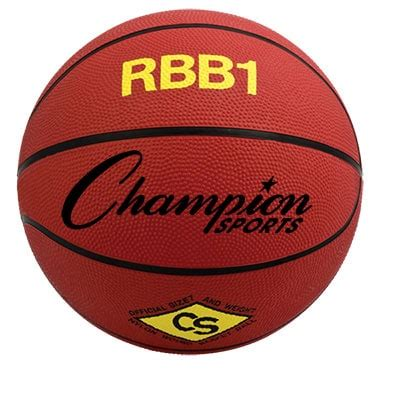 official size rubber basketball orange chrbb gagne sports