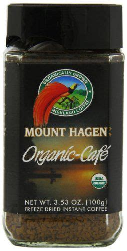 Mount hagen has been carefully selected and separately harvested to bring you the highest quality, mild and naturally rich in flavored coffee. Mount Hagen Organic Freeze Dried Instant Coffee, 3.53-Ounce Jars (Pack of 6) | Jar pack, Coffee ...