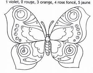 Dessin Facile Papillon : coloriage magique facile 12 ~ Melissatoandfro.com Idées de Décoration