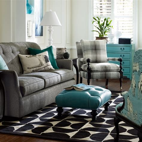 Teal And Grey Living Room Walls by This Is Totally The Look I Want In My Family Room Got