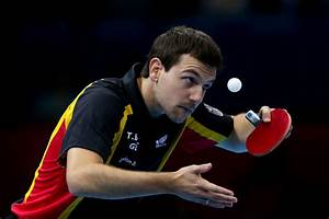 Timo Bolll in Olympics Day 12 - Table Tennis - Zimbio