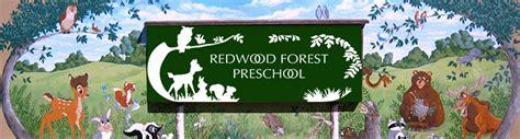 redwood forest preschools inc castro valley ca day 959 | logo masthead