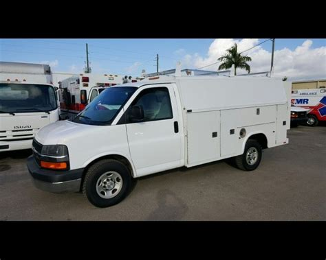 electric truck for sale 2007 chevrolet express g3500 enclosed kuv utility 8995