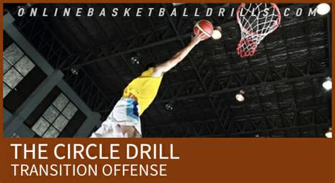 transition offense  circle drill