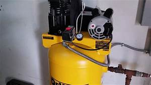 Dewalt 60 Gal Stationary Electric Air Compressor