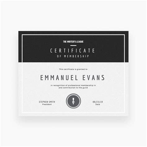 crea modelos de certificados   canva