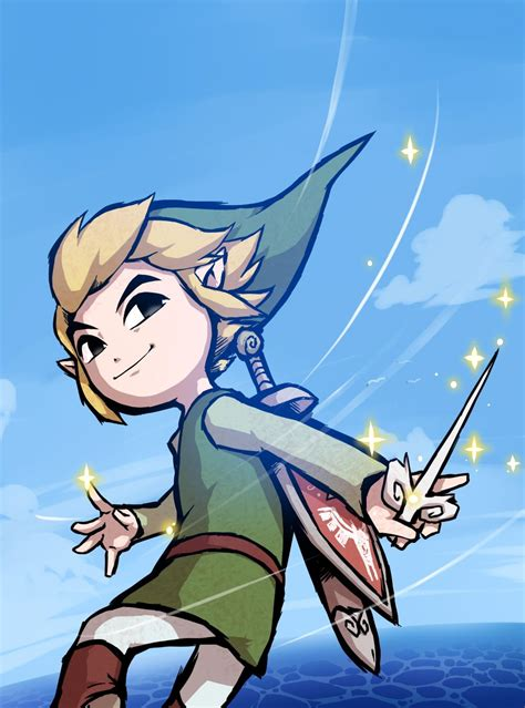 The Legend Of Zelda The Wind Waker Toon Link 風がはこんだ冒険