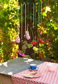 DIY Hanging Flower Garland