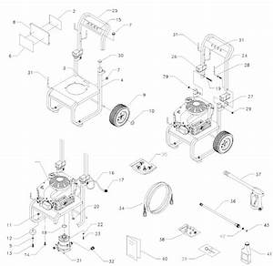 Generac Pressure Washer Model 1440