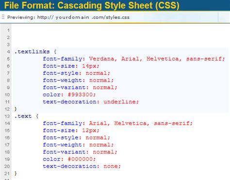 html editor  editing  file types
